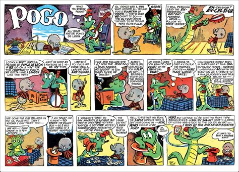 Pogo the complete daily sunday comic strips, vol 1 jpg 1600x1151